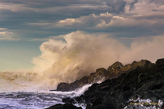 Waves and Clouds  by Francoise Dugourd-Caput