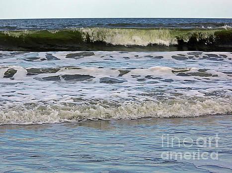 Waves In The Atlantic by D Hackett
