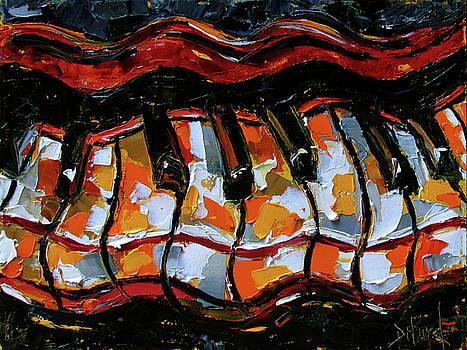 Wavy Keys by Debra Hurd