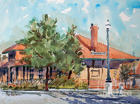 Waxachie Train Station by Ron Stephens