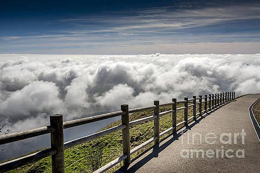 BERNARD JAUBERT - Way through the clouds. France.