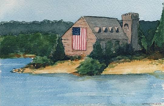 WB Stone Church  by Lynn Babineau