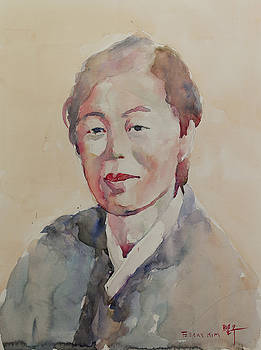WC Portrait 1625 My Mama by Becky Kim