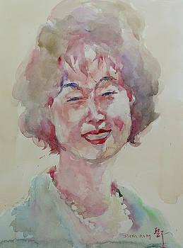 WC Portrait 1627 My Sister Hyunju by Becky Kim
