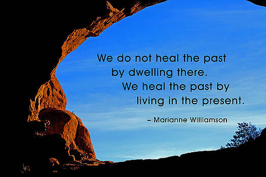 We Do Not Heal the Past by by Mike Flynn