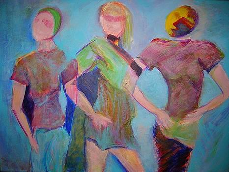 We Three by Mary Schiros