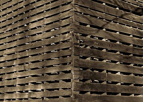 Weathered Corn Crib by Chris Berry