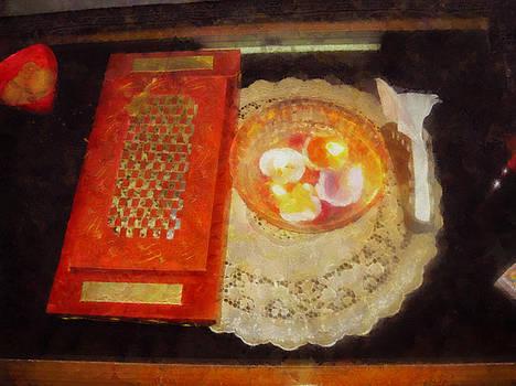 Wedding card and candles by Ashish Agarwal