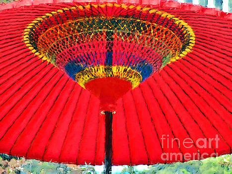 Wedding Day Umbrella by Jack Gannon