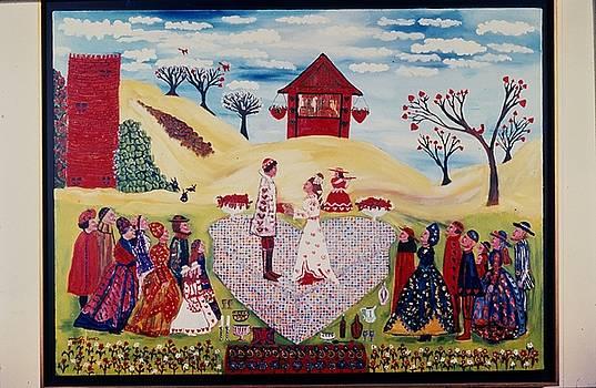 Wedding in Heartland by Carol Shumas