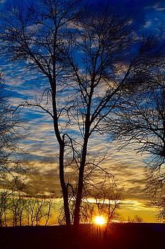 Weekend Sunrise in Minnesota by Dacia Doroff