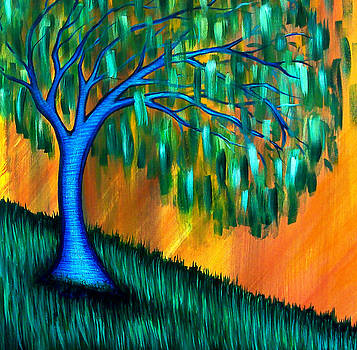Weeping Willow by Brenda Higginson