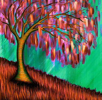 Weeping Willow III by Brenda Higginson