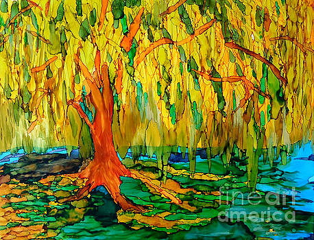 Weeping Willow by Vicki  Housel
