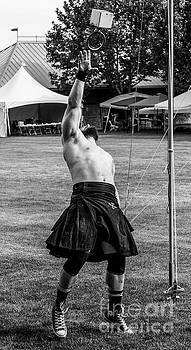 Weight Throw - Scottish Festival and Highland Games by Gary Whitton