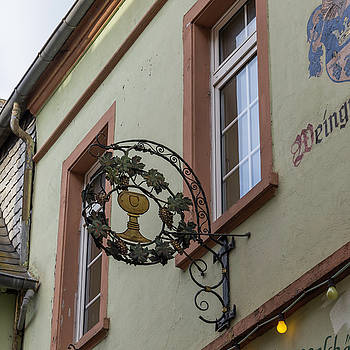 Weingut Kilp Sign Rudesheim by Teresa Mucha