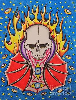 Weird Skull by Kevin  Guinn
