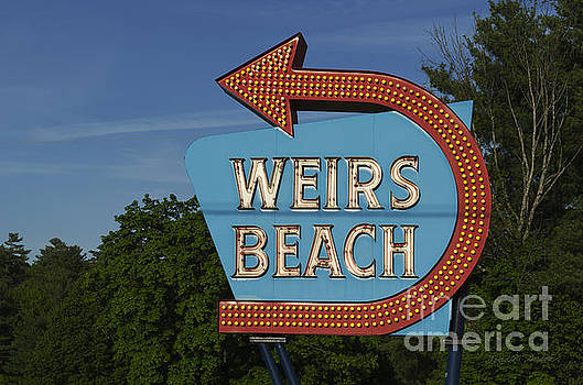 David Gordon - Weirs Beach NH Sign - color