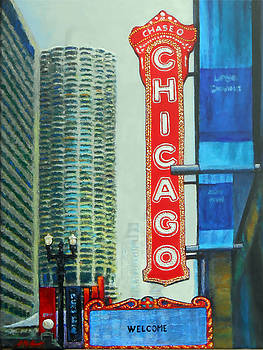Welcome to Chicago by Michael Durst