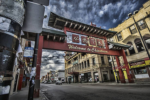 Welcome to Chinatown on Chicago's south side by Sven Brogren