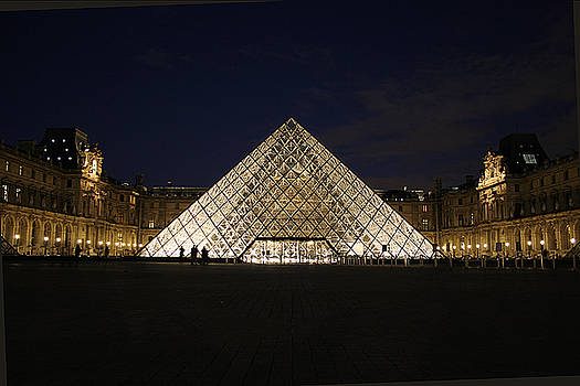 Welcome to the Louvre by Joshua Francia