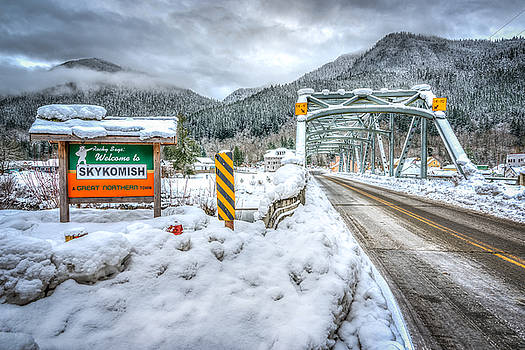 Welcome to Winter at Skykomish by Spencer McDonald