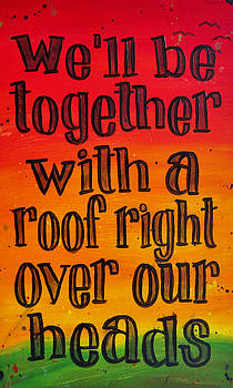 Well Be Together 12x20 by Michelle Eshleman
