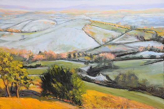 Harry Robertson - Welsh Landscape in Winter