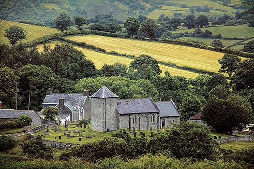 Welsh parish church  by Susan Tinsley