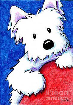 Wendell The Westie by Kim Niles