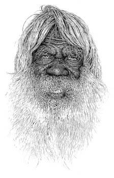West Australia Aboriginal by Kim Philipsen
