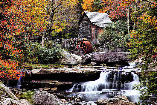 West Virginia Grist Mill Glade Creek by Mim White