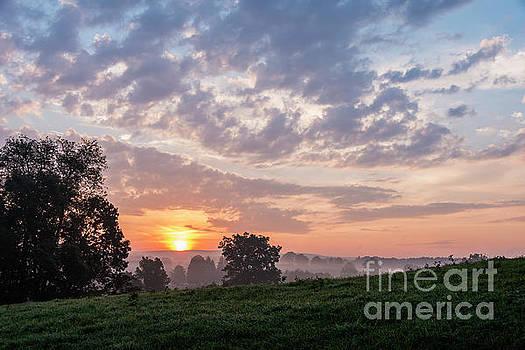 West Virginia Summer Sunrise  by Thomas R Fletcher