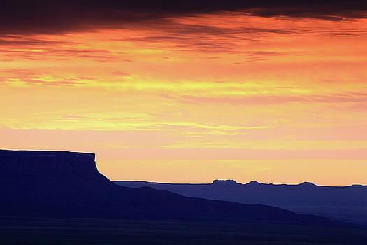 Western Dawn by Roupen  Baker