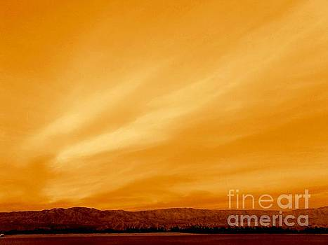 Western Frontier Sunset California by Michael Hoard