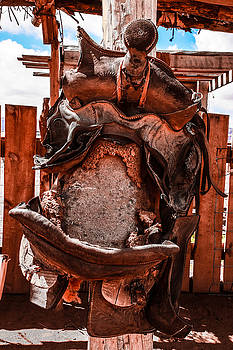 Western Saddle by Dany Lison