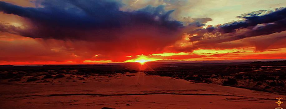 Western Sunset by Tony Lopez