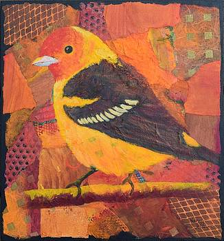 Western Tanager by Nancy Jolley