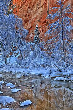 Westfork in Winter by Tom Kelly