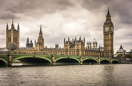 Westminster Bridge London by Nicky Jameson