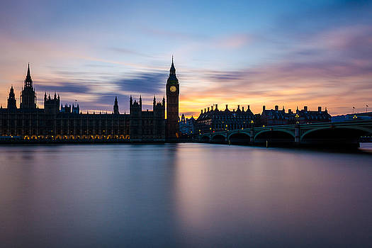 Westminster Sunset by James Evans