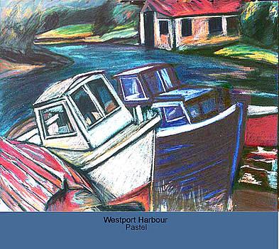 Westport Harbour by Ellen Lefrak