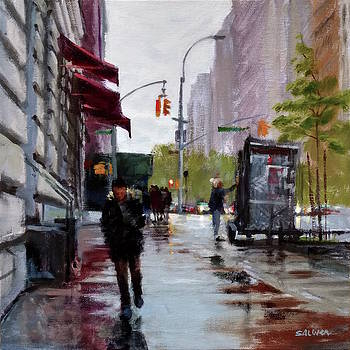 Wet Morning, Early Spring by Peter Salwen