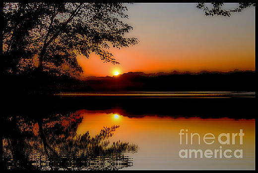 Wethersfield Sunset by Marcel  J Goetz  Sr