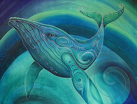Whale  by Reina Cottier