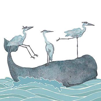 Whaling by Debi Hubbs