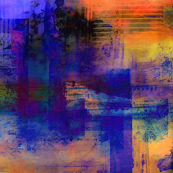 What-a-Color Art Series  Abstract Landscape Art  by Ricki Mountain