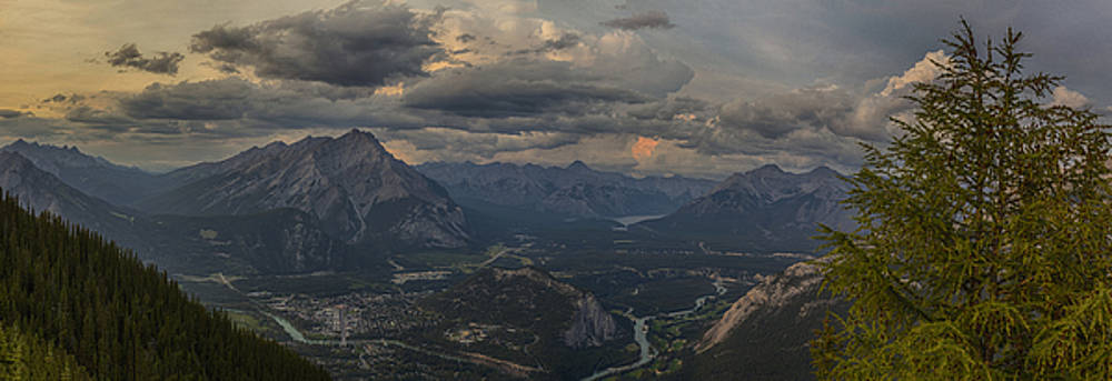 When in Banff Canada by Angela A Stanton
