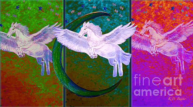 When Pegasus Dances with the Stars and the Moon by Kimberlee Baxter