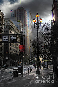 Wingsdomain Art and Photography - When The Lights Go Down In San Francisco 5D20609